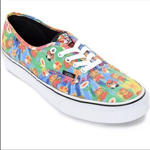 Vans Rare Mario Nintendo edition shoes sneaker